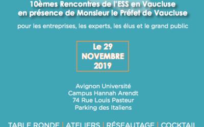 10èmes rencontres de l'ESS en Vaucluse
