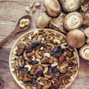 Tagliatelles 100% champignons