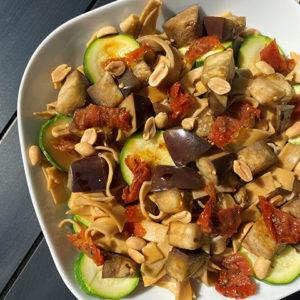 rubans petit epeautre et legumes
